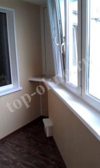 Остекление и отделка балкона на улице Братеевская