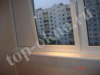 Остекление и отделка балкона на улице Челябинская